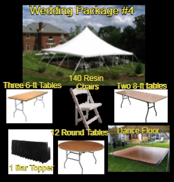 Wedding Package #4 - 100 Guests