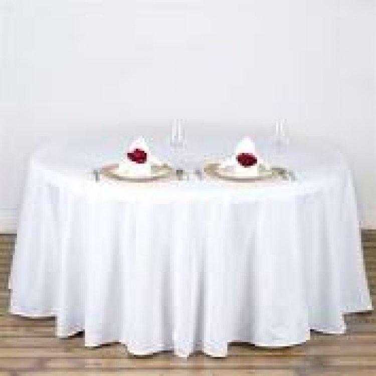 60 Round Table Floor Length Linen