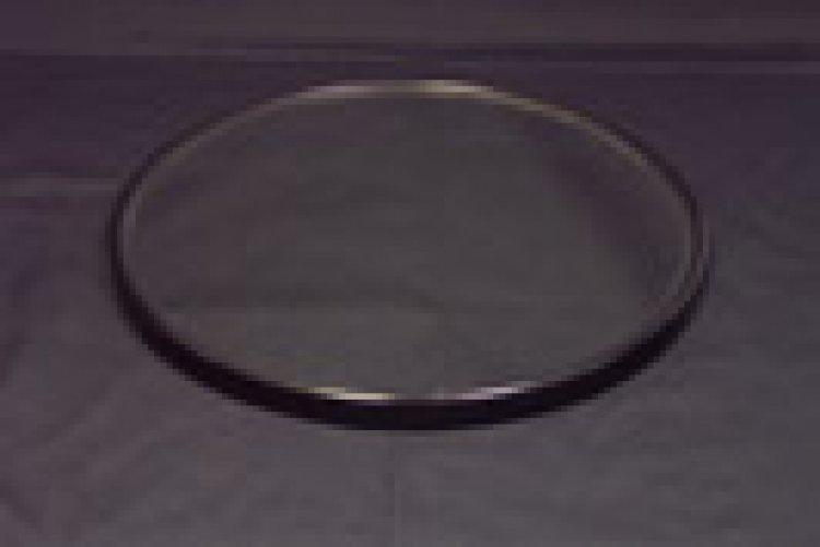 MIRROR 14.5 ROUND W/BLACK RIM