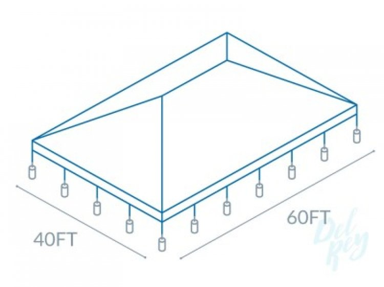 40x60 Frame Tent  (320 people)