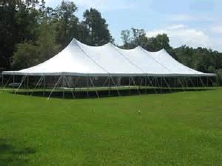 40x120 Pole Tent (480 people)