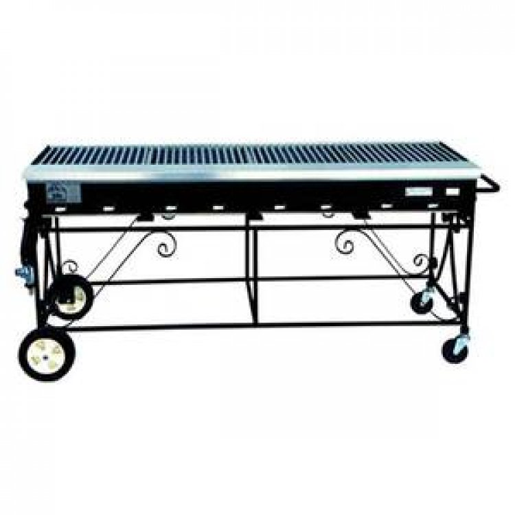 GAS GRILL 2'X5' OPEN