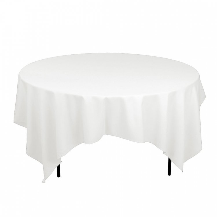 60 Round Table Lap Length Linen