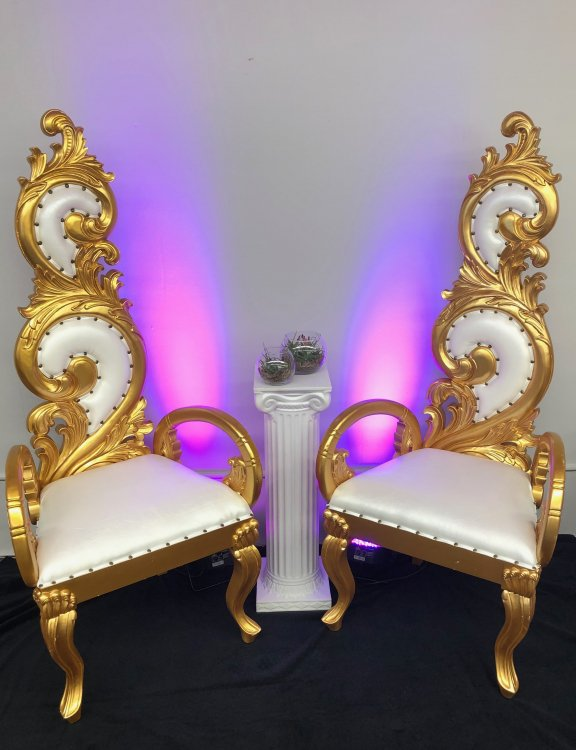 Gold Pair Thrones