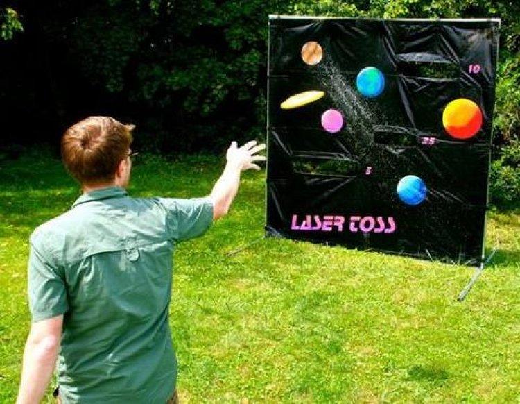 Laser Toss