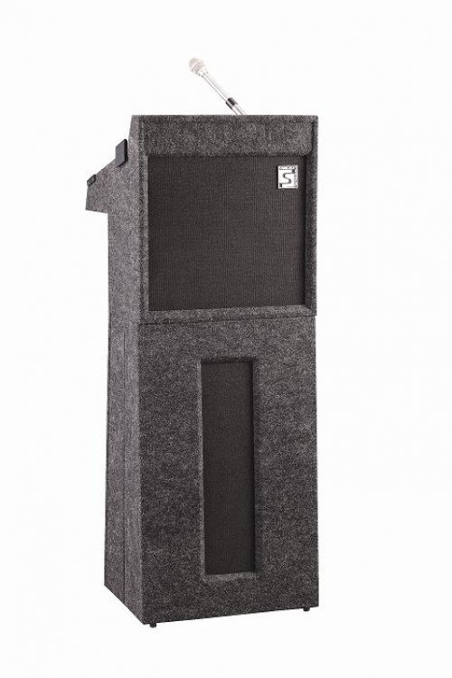 PODIUM CARPETED LECTERN