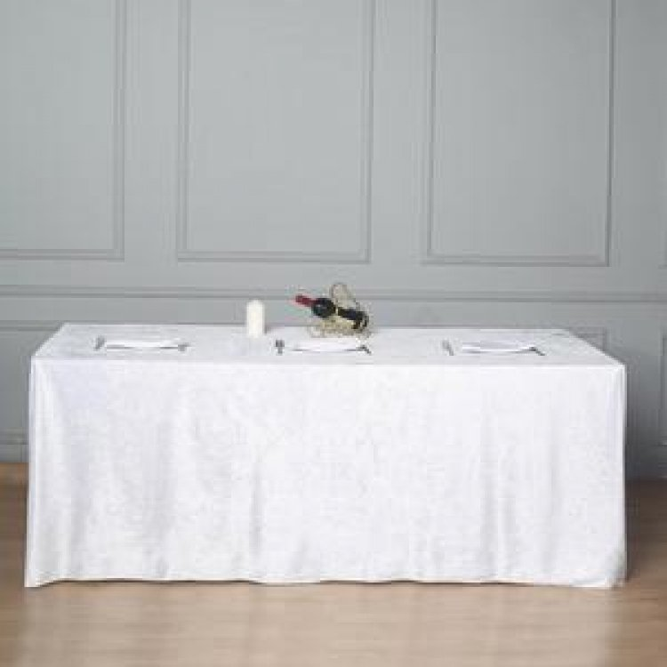 8FT Floor Length Table Cloths