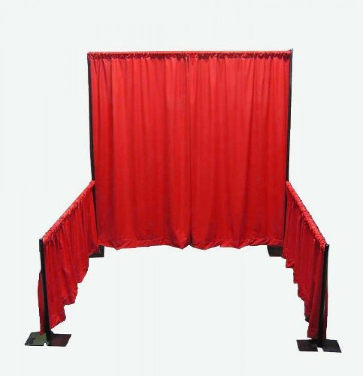 Trade Show Booth Pipe and Drape Only