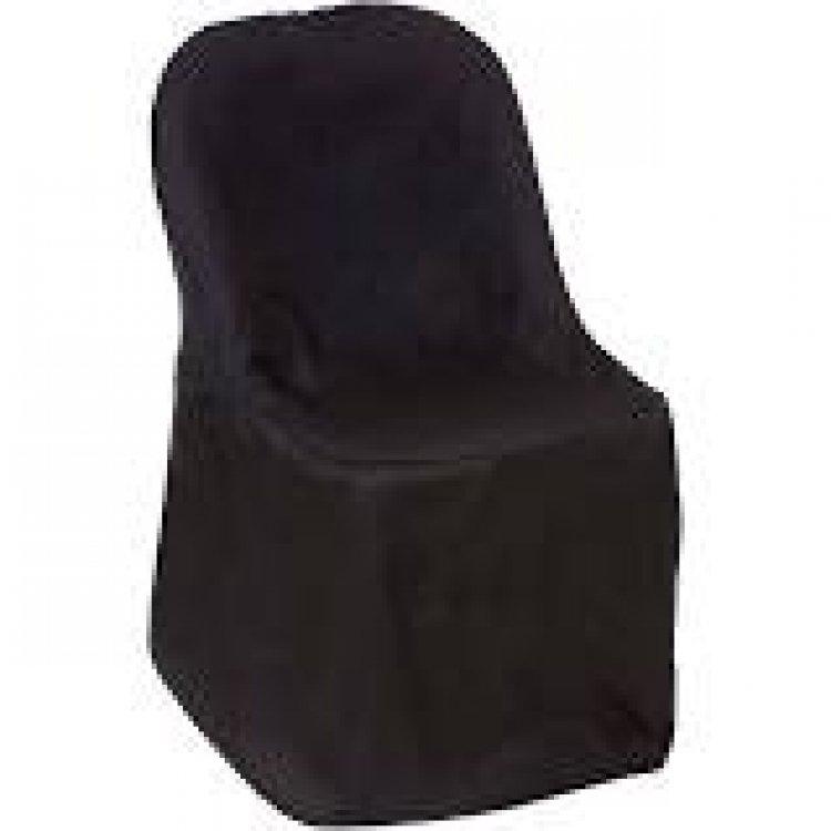 Chair covers Black folding