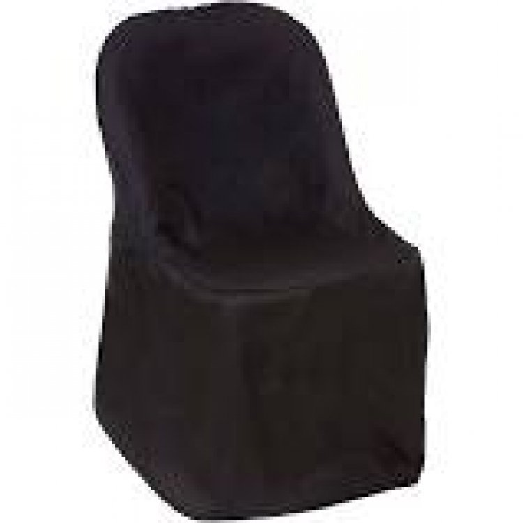 Chair covers Black folding