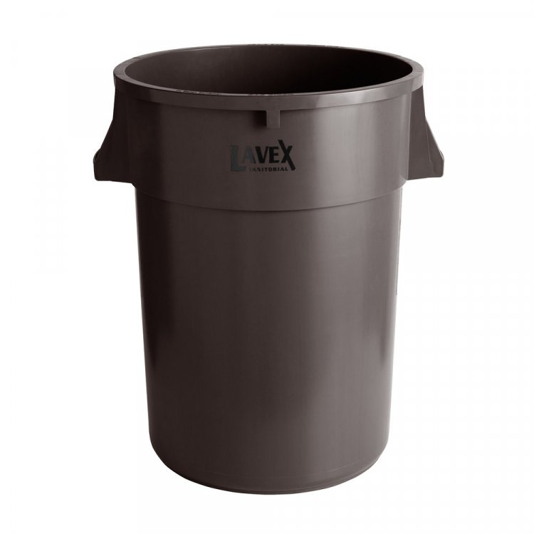 GARBAGE CAN BROWN
