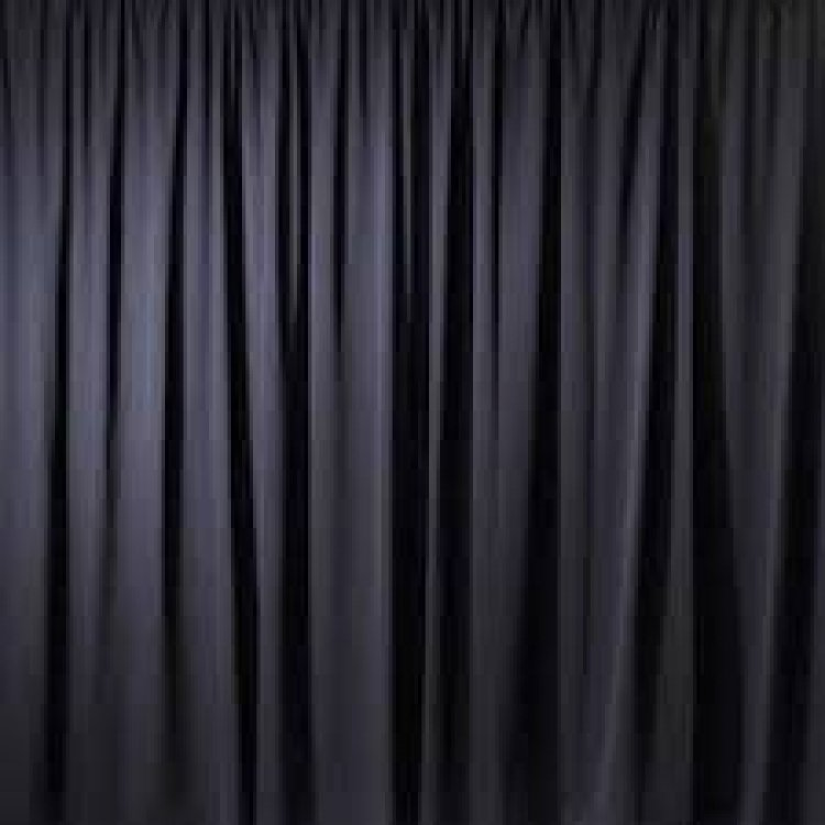 DRAPE BLACK PREMIER 8FT A/V