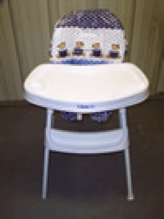 HIGH CHAIR PLASTIC STACK