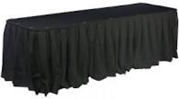 8ft Table Skirt