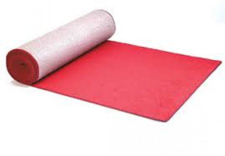 CARPET RED 6'X50'  BOUND