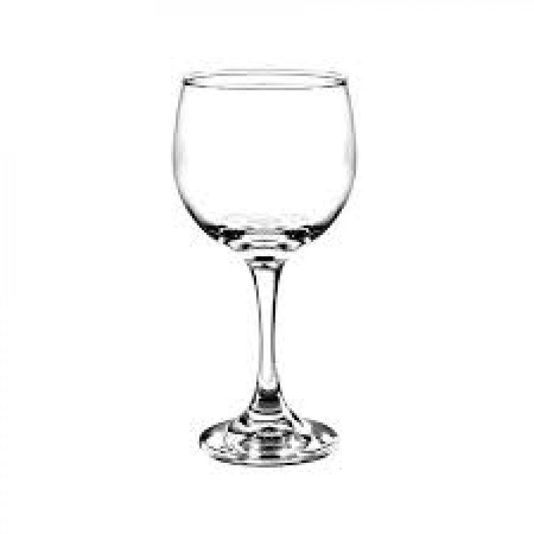 WINE RED 8 1/2 OZ GLASS