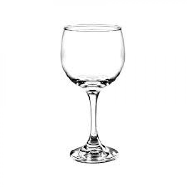 WINE RED 6 1/2 OZ GLASS