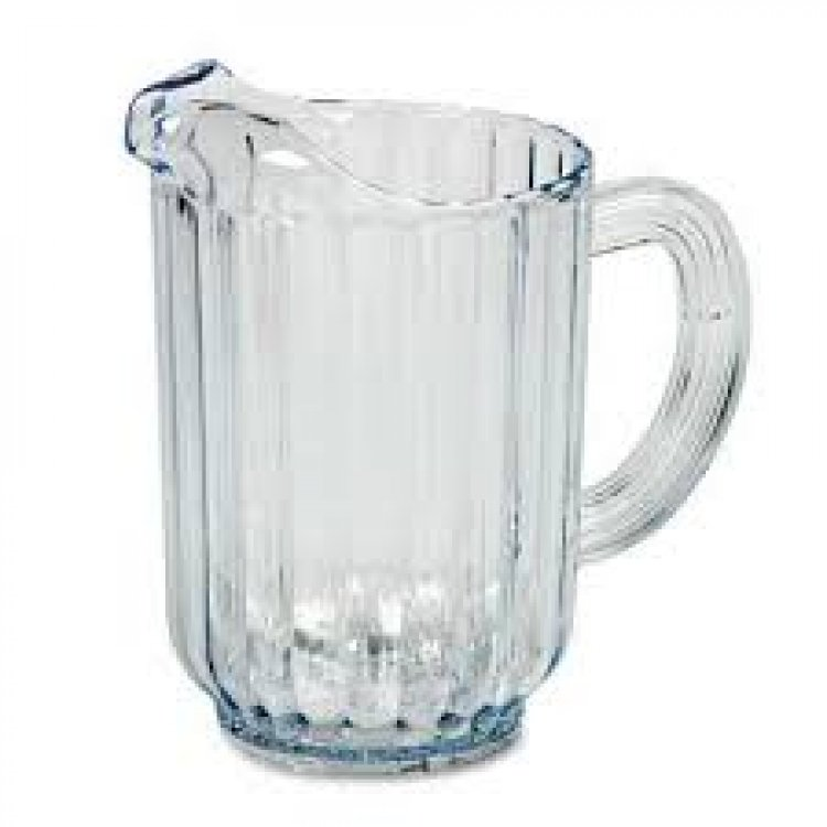 WATER PITCHER PLASTIC 64 OZ
