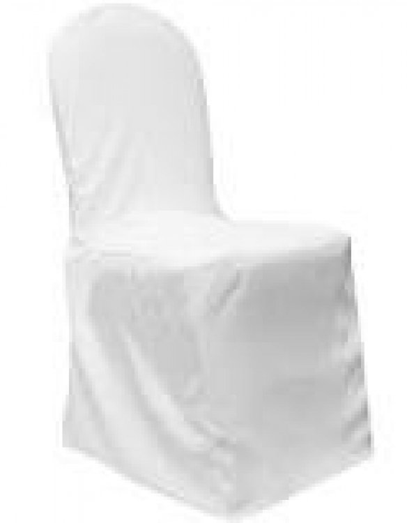 Chair covers White (for banquet chairs)