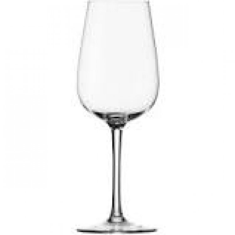 WINE WHITE 8 1/2 OZ TALL GLASS