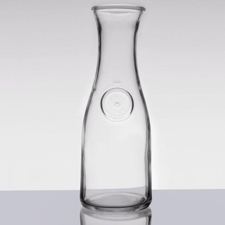 Wine carafe 1/2 liter plastic