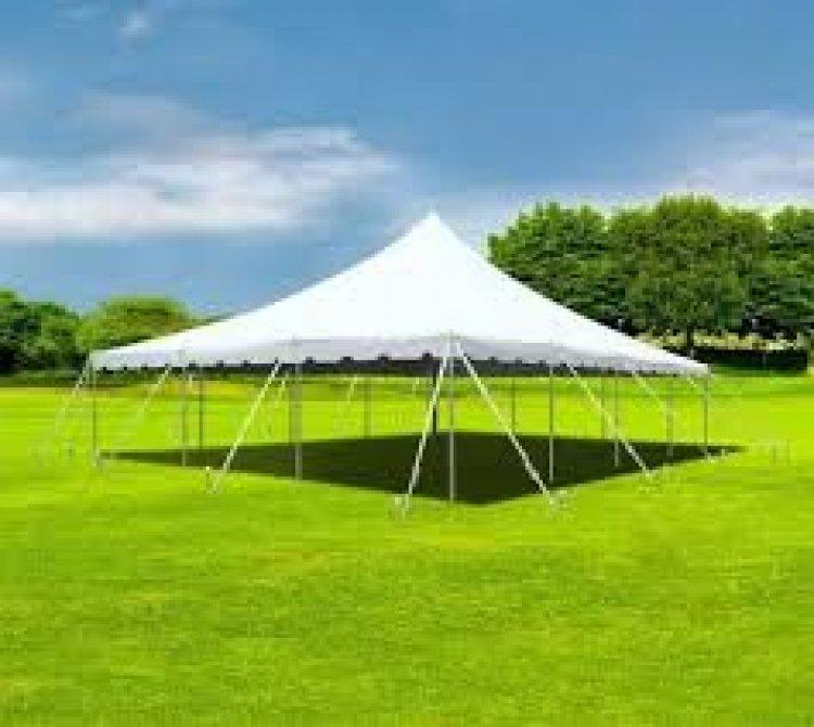 30x40 Pole Tent