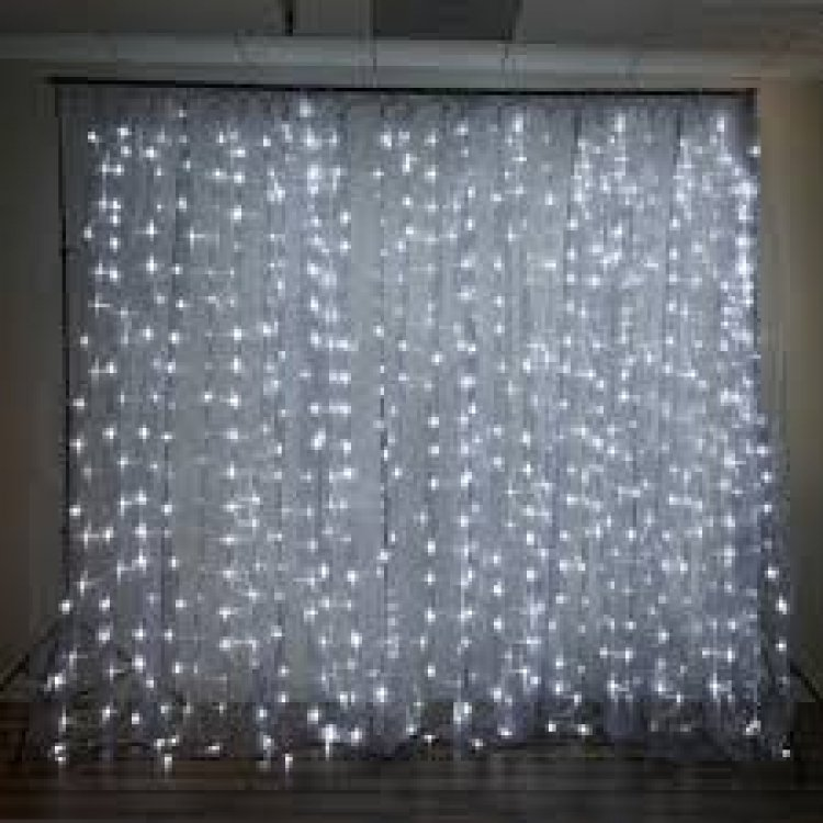 18FT x 9FT | 600 Sequential White LED Lights BIG Photography