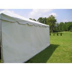 7 feet Tall 20ft Solid Tent Side