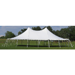 40'x60' White Pole Tent (240 people)