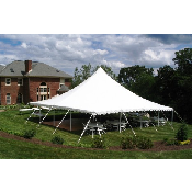 40x40 Pole Tent (160 people)