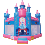 Princess Hexagon Bounce House
