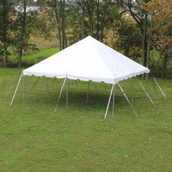 20'x20' White Pole Tent (48 people)