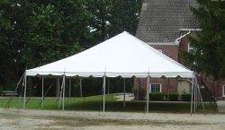 30x30 Pole Tent  (96 people)