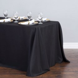 90 x 120 Linen - Black