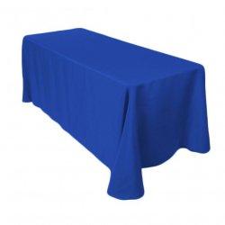 90 x 120 Linen - Cadet Blue