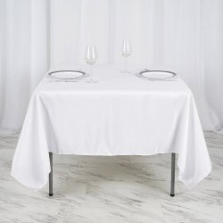 48 Table Lap Length and High Top Table Linen